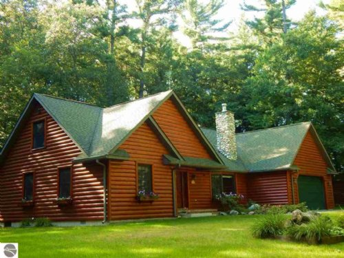 Beautiful Lodge On 160 Acres : Mikado : Iosco County : Michigan