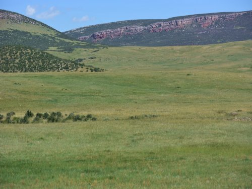 Historic Francis Cattle Ranch : Cheyenne : Laramie County : Wyoming