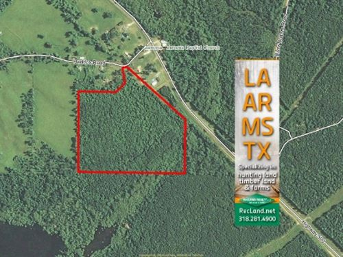 30.1 Ac - Small Hunting Tract Or Ru : Georgetown : La Salle Parish : Louisiana