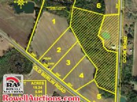 50+/- Acres Cropland, Home & Barn
