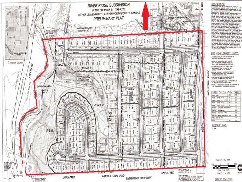 Leavenworth Residential Development : Leavenworth : Leavenworth County : Kansas