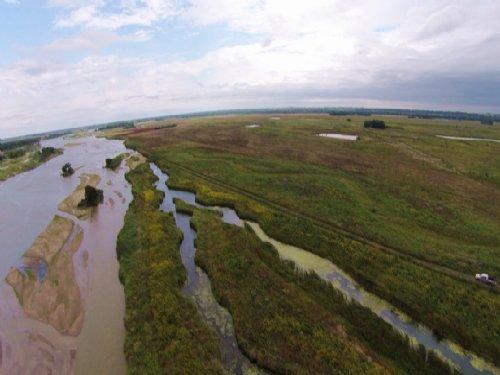 Reduced. Prairie Island Waterfowl A : Central City : Merrick County : Nebraska