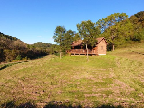 Hunting & Fishing Cabin 68 Acres : Muscoda : Richland County : Wisconsin