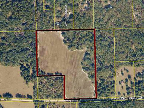 25 Acres For Sale, Wooded Land : Lake City : Columbia County : Florida