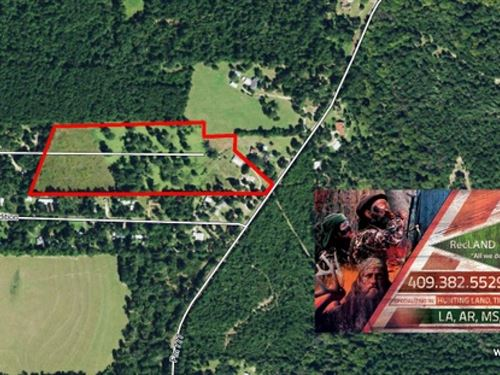 18.2 Ac - Rural Tract Ideal For Hom : Jasper : Texas