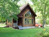 Log Home Cottage Near Lake Ontario