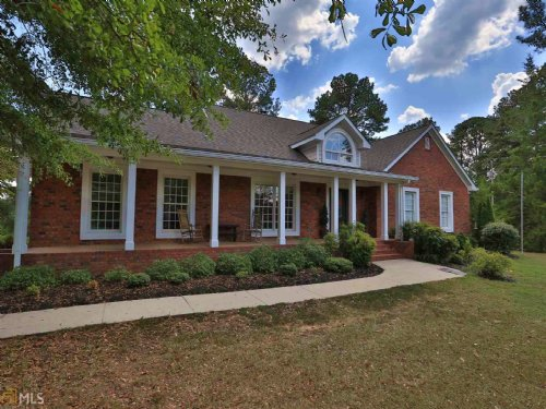 4 Sided Brick Ranch On 39.6 Acres : Monroe : Walton County : Georgia
