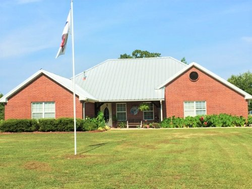 Home On 14 Acres For Sale : Avery : Red River County : Texas