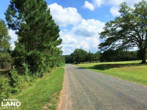 Rural Homesite With Creek : Greenwood : South Carolina