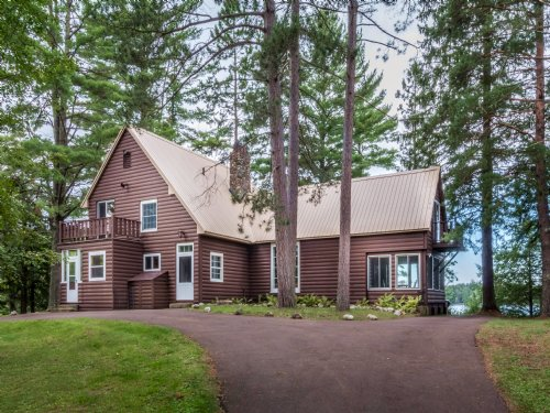 297 Ac Owl Lake-private Bay : Oma : Iron County : Wisconsin