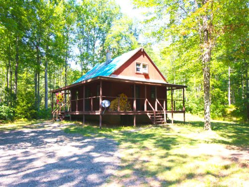 11+/- Acres Home / Cabin : Unityville : Lycoming County : Pennsylvania