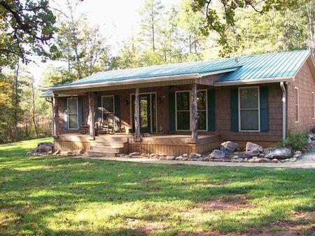 49.1  Acres With House : Juliette : Jones County : Georgia