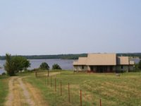 Central Oklahoma Lake Overlook Home