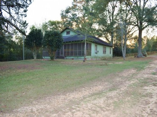 Old Farm Home And 6 Acres : Jayess : Walthall County : Mississippi