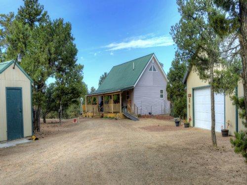 The Quade Cabin : Cotopaxi : Fremont County : Colorado