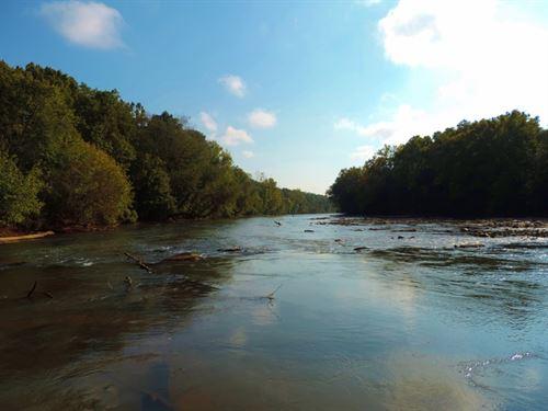 Broad River Frontage, Big Timber : Elberton : Elbert County : Georgia
