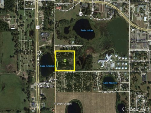 9.5± Acre Multi-family Development : Lake Wales : Polk County : Florida
