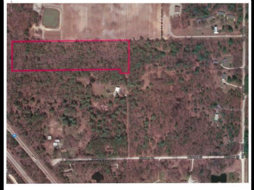 Lot Ready For Hunting Or New Home : Fruitport : Ottawa County : Michigan