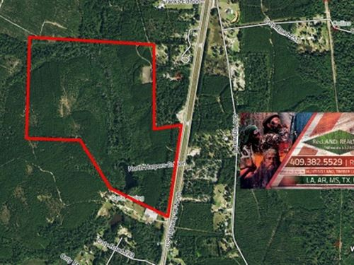 166 Ac Great Timberland Tract Near : Jasper : Texas
