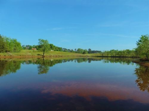 Price Reduced, Cattle Farm W/ 2 Pon : Eatonton : Putnam County : Georgia