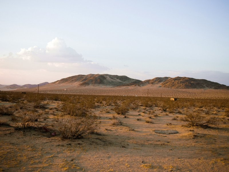 Water And Power 5 Acres : Landers : San Bernardino County : California