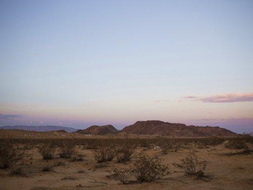 Amazing Desert Sunsets Water : Twentynine Palms : San Bernardino County : California