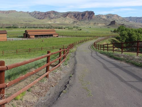 Castle Rock Ranch : Cody : Park County : Wyoming