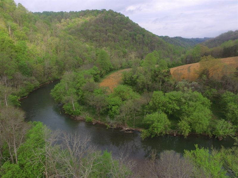 Private Retreat On The Powell River : Tazewell : Claiborne County : Tennessee