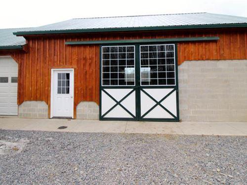10 Acre Farmette, House, Barn : Muncy : Northumberland County : Pennsylvania