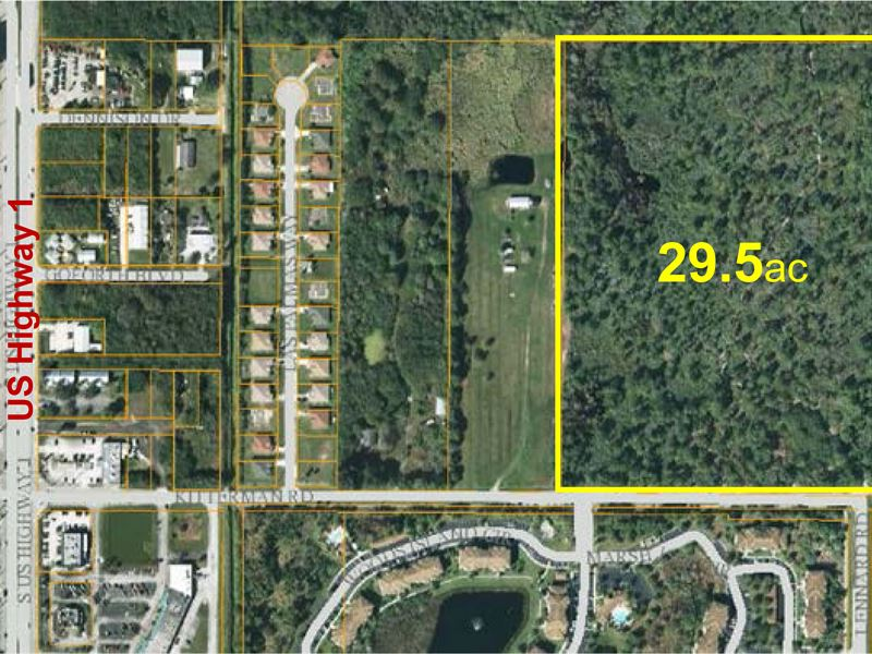 29Ac Multi-Family Development Site : Port St Lucie : Saint Lucie County : Florida