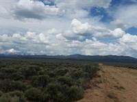 Huge 6.67 Acres Residential Lot : Blanca : Costilla County : Colorado