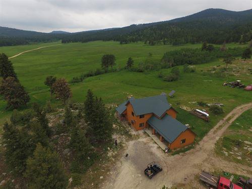 Big Elk Ranch : Allenspark : Boulder County : Colorado