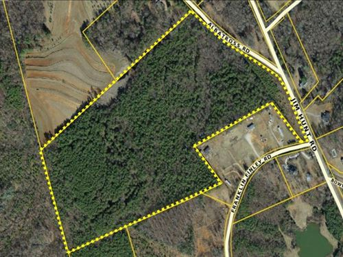 35 Acres With Great Views Of PA : Easley : Pickens County : South Carolina