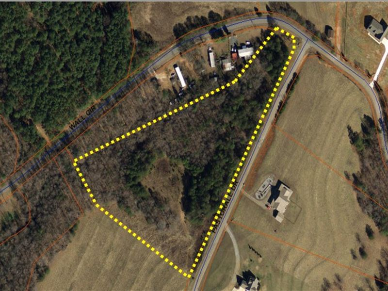 Reduced Wooded Building Lot Locat : Chesnee : Spartanburg County : South Carolina