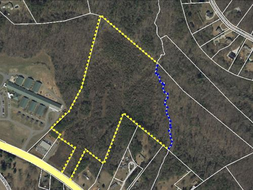 Reduced +/ 27 Acres Located 2.6 Mi : Travelers Rest : Greenville County : South Carolina