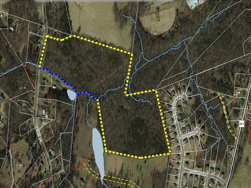 +/- 39 Unrestricted Acres W/ Develo : Greenville County : South Carolina