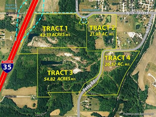 146 Acres M/L Offered In 4 Tracts : Kearney : Clay County : Missouri