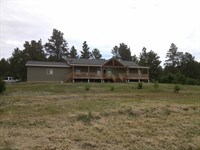 2014 3/2 Home On 35+Acres : Aladdin : Crook County : Wyoming