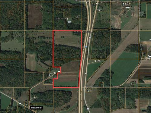 69+/- Acres Of Hunting & Tillable : Portage : Columbia County : Wisconsin
