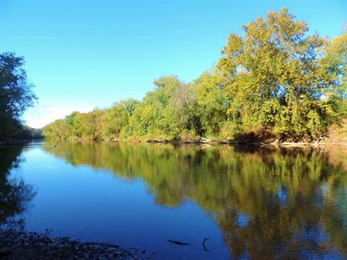 River Frontage & Big Hardwood : Plainville : Gordon County : Georgia