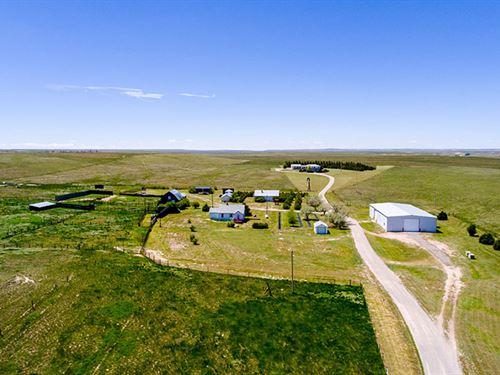 Ninety Six Bear Creek Ranch : Lagrange : Goshen County : Wyoming