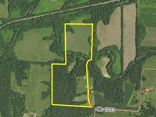 60 Acres County Rd 1033 : Madison : Monroe County : Missouri