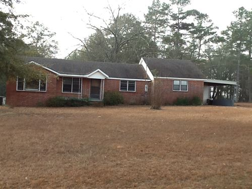 Powell Rd House And 6 Ac : Brantley : Crenshaw County : Alabama