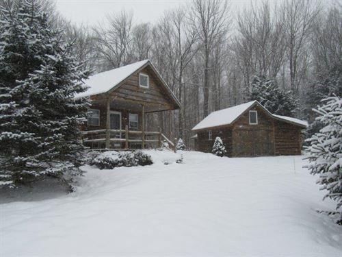 Cabin & Cottage Near Syracuse Ny : Amboy : Oswego County : New York