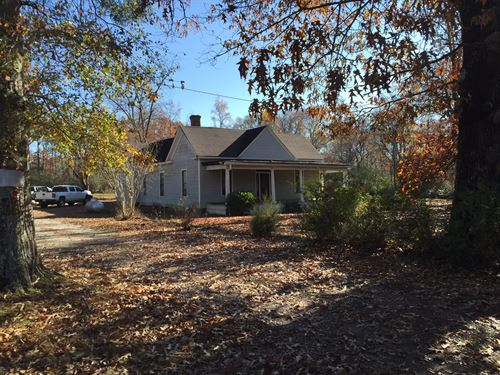 Wooded Acreage With Historic Home : Covington : Newton County : Georgia
