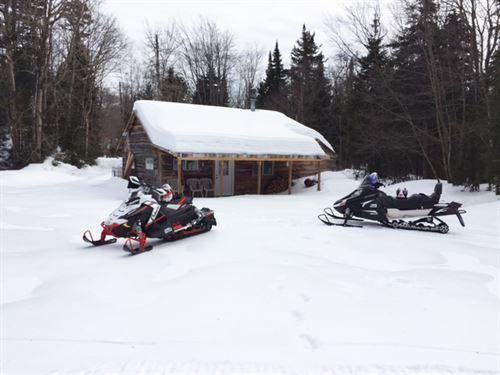 255 Acres Cabin Tug Hill Region Ny : Osceola : Lewis County : New York