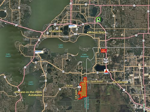 East Lake County Development : Mount Dora : Lake County : Florida