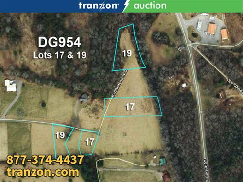 2 Res Riverfront Lots : Blairsville : Union County : Georgia
