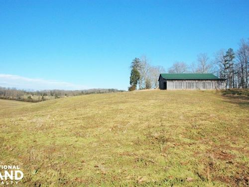 Friendsville Farm With Barn : Friendsville : Loudon County : Tennessee