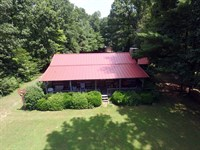 Log Home On 93 Acres : Wartburg : Morgan County : Tennessee